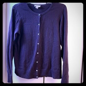 Loft cotton cardigan with bling buttons